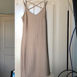 Bodycon Nude Dress